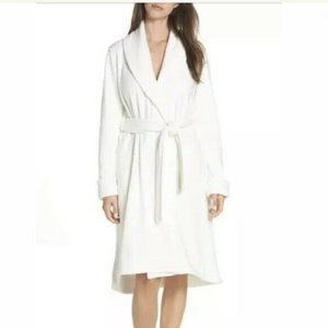 NWT! UGG Cream Duffield II Belted Fleece Robe